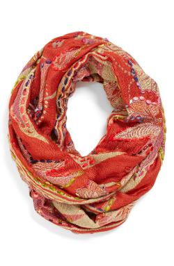 Raj Imports  - Embroidered Infinity Scarf