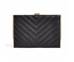 Marciano - Chevron Quilted Clutch