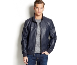 Tommy Hilfiger  - Faux Leather Bomber Jacket