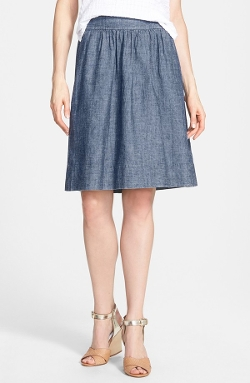 Eileen Fisher - Hemp & Organic Cotton A-Line Skirt