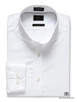 Banana Republic - Monogram Solid Dress Shirt