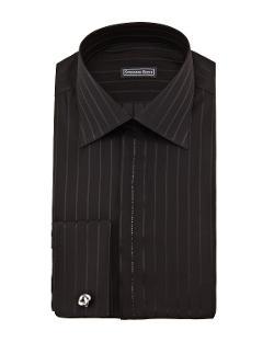 Stefano Ricci  - Crystal-Trim Silk Tuxedo Shirt