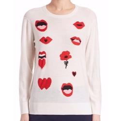 Sonia by Sonia Rykiel  - Ribbed Jacquard Sweater
