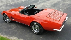 Chevrolet  - 1969 Corvette Convertible Car