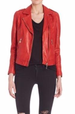 Doma  - Leather Biker Jacket