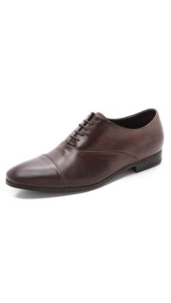 Fratelli Rossetti  - Nappa Cap Toe Oxfords with Rubber Sole