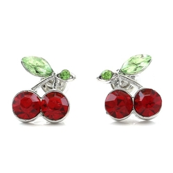 Soul Breeze Collection - Cherry Stud Post Earrings