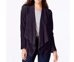 Michael Kors  - Draped Suede Jacket