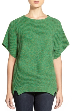 Chaus - Dolman Sleeve Ribbed Sweater