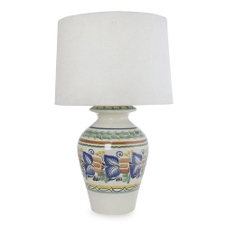 Novica - The Gorky Gonzalez Majolica Ceramic Table Lamp