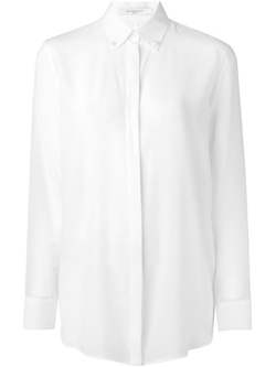 Givenchy - Faux Pearl Button Shirt