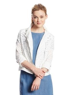 DKNY Jeans - Eyelet Moto Jacket