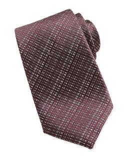 Brioni - Open-Weave Crosshatch Tie