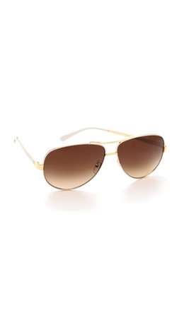 Tory Burch  - Aviator Sunglasses