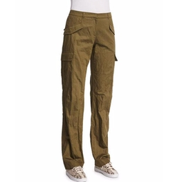 Michael Kors Collection - Straight-Leg Cargo Pants