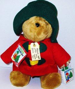 Sears - Vintage 1994 Holiday Paddington Christmas Teddy Bear