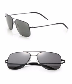 Oliver Peoples - Clifton Square Aviator Sunglasses