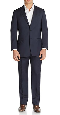 Versace Collection - Regular-Fit Solid Virgin Wool Suit