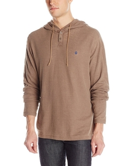 Volcom  - Burnt Burnout Thermal Pullover Hoodie