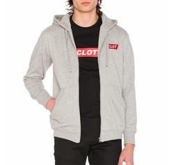 Clot - Box Logo Zip Up Hoodie