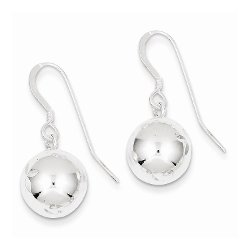 Mireval - Diamond Cut Dangle Ball Earrings