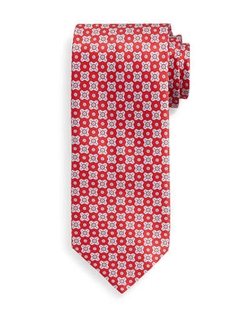 Stefano Ricci - Neat Square-Patterned Silk Tie