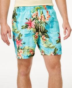 Tommy Bahama - Floral Drawstring Swim Trunks