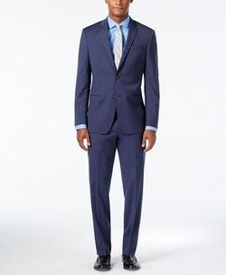 DKNY - Stripe Slim Fit Suit