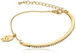 Jules Smith - Bar and Chain Skull Bracelet