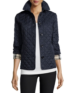 Burberry Brit - Ashurst Classic Modern Quilted Jacket