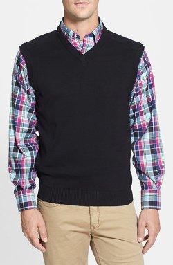 Cutter & Buck  - V-Neck Sweater Vest