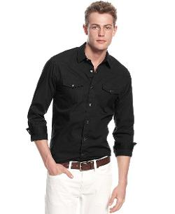 Guess - Austin Westside Button-Down Shirt