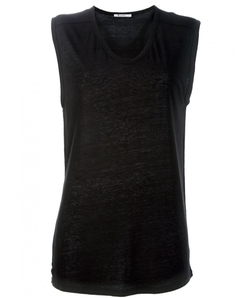 T By Alexander Wang - Slub Classic Muscle Shirt