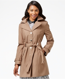 Calvin Klein - Single-Breasted Trench Coat