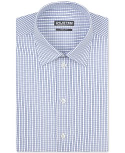 Unlisted by Kenneth Cole - Blue Sail Check Dress Shirt