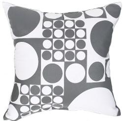 Artiwa - Modern Diamond Circles Decorative Pillow