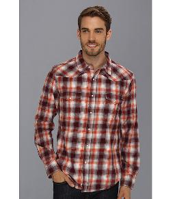 Lucky Brand  - Creekside Plaid Western Shirt