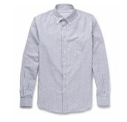 Loro Piana - Alfred Striped Oxford Shirt