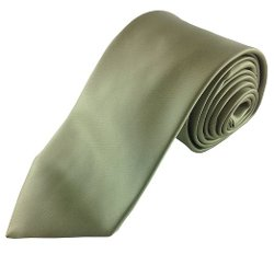 Imani Uomo - Natural Olive Green Tie