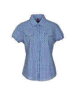 Sun 68  - Checked Design Shirt
