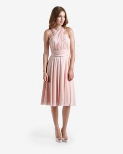 Elira  - Multiway wrap detail ballerina dress