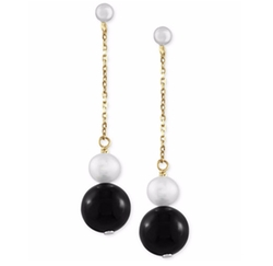 Effy Collection - Freshwater Pearl Linear Earrings