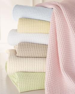 Sferra - Waffleweave Blanket