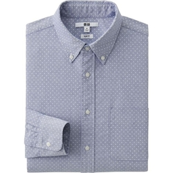 Uniqlo - Oxford Printed Shirt