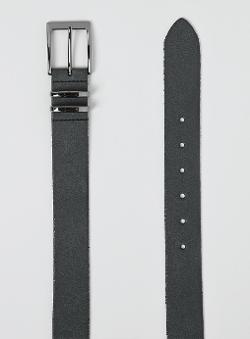 Topman - Black Leather Belt