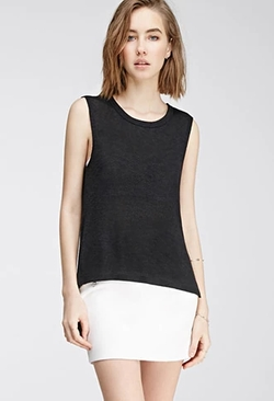 Forever 21 - Asymmetrical Loose Knit Top