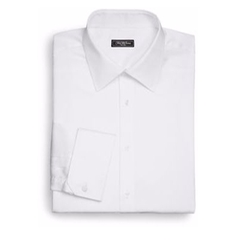 Saks Fifth Avenue Collection - Regular-Fit French Cuff Cotton Shirt
