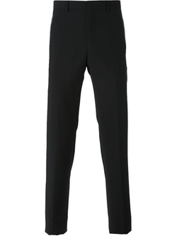 Givenchy - Leather Trim Trousers