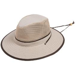 Dorfman Pacific - Mesh Crown Safari Hat