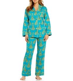 Bedhead - Royal Peacocks Sateen Pajama Set